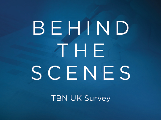 Behind the Scenes TBN UK Survey